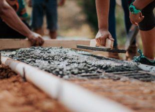 Job auf dem Bau